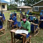 The Water Project: Boyani Primary School -  Showing Training Workbooks