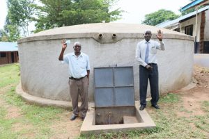 The Water Project:  Teachers Give Thanks For The Tank