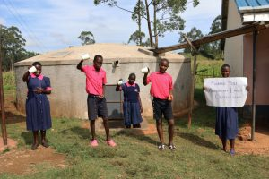 The Water Project:  A Happy School