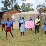 The Water Project: Mukoko Baptist Primary School -  Director Catherine Joins In The Thanks