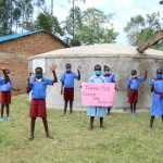 The Water Project: Mukoko Baptist Primary School -  Students Give Thanks