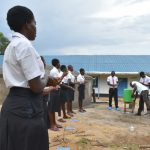 The Water Project: Kinu Friends Secondary School -  The Handwashing Demonstration Exercise