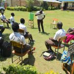 The Water Project: Friends Kisasi Secondary School -  Dental Hygiene Practicals