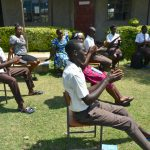 The Water Project: Friends Kisasi Secondary School -  Following Ten Handwashing Steps