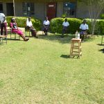 The Water Project: Friends Kisasi Secondary School -  Distancing At Training