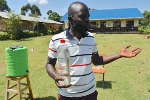 The Water Project:  Solar Disinfection Activity