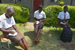 The Water Project:  Students Take Notes