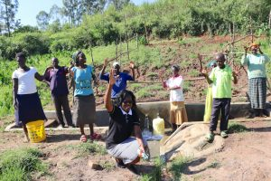 The Water Project:  Happy Community