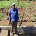 The Water Project: Mahira Community, Anunda Spring -  Jeremiah At The Spring