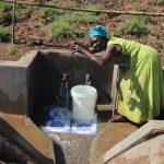 The Water Project: Mahira Community, Anunda Spring -  Joy Of Clean Water