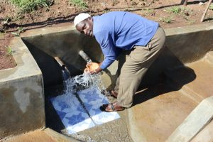 The Water Project:  Enjoying Flowing Water
