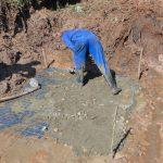 The Water Project: Indulusia Community, Yakobo Spring -  Slab Setting