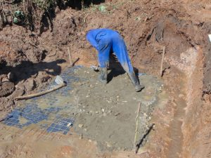 The Water Project:  Slab Setting