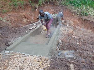 The Water Project:  Cementing The Stairs