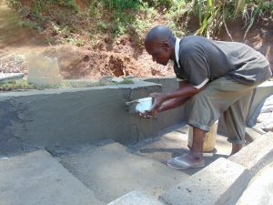 The Water Project:  Plastering