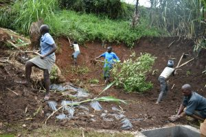 The Water Project:  Soil Backfilling And Site Clearance