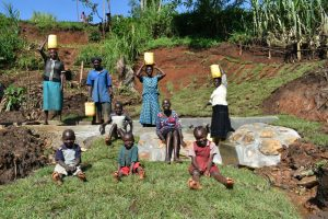The Water Project:  Clean Water Happy Community