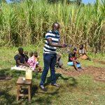 The Water Project: Indulusia Community, Yakobo Spring -  Demonstrating Handwashing Steps