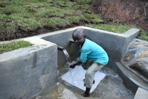 The Water Project:  Enjoying Clean Cool Water