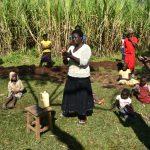 The Water Project: Indulusia Community, Yakobo Spring -  Following Handwashing Steps