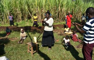 The Water Project:  Following Handwashing Steps