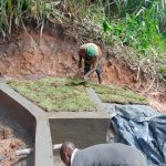 The Water Project: Indulusia Community, Yakobo Spring -  Grass Planting