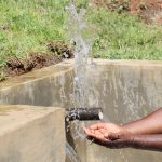 The Water Project: Indulusia Community, Yakobo Spring -  Making A Splash