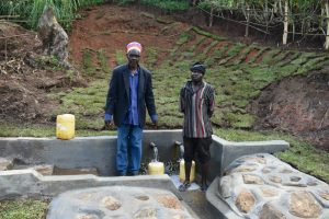 The Water Project:  Mr Jacob Lumbasi And Isaiah Jacob