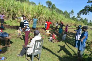 The Water Project:  Social Distancing Test