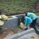 The Water Project: Indulusia Community, Yakobo Spring -  The Joy Clean Water Brings