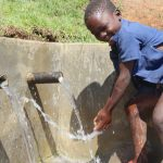 The Water Project: Indulusia Community, Yakobo Spring -  Water Celebrations