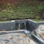The Water Project: Indulusia Community, Yakobo Spring -  Clean Water Flowing