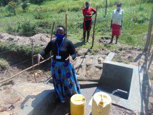 The Water Project:  Betty Majani Conducting Training