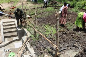 The Water Project:  Spring Fencing