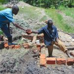 The Water Project: Lukala C Community, Livaha Spring -  Stair Construction