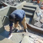 The Water Project: Lukala C Community, Livaha Spring -  Plaster Works