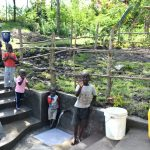 The Water Project: Lukala C Community, Livaha Spring -  Children Posing At The Spring