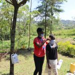 The Water Project: Lukala C Community, Livaha Spring -  Mask Making And Proper Wearing