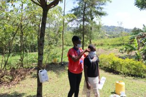 The Water Project:  Mask Making And Proper Wearing