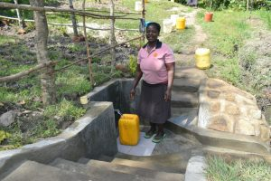 The Water Project:  Happy Collecting Clean Water