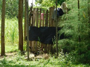 The Water Project:  Bathing Shelter Made From Offcuts