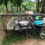 The Water Project: Muyundi Community, Magana Spring -  Dishrack
