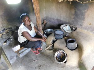 The Water Project:  Meal Preparations Inside The Kitchen