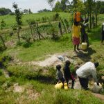 The Water Project: Muyundi Community, Magana Spring -  At The Spring