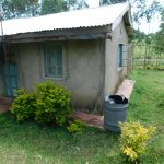 The Water Project: Muyundi Community, Magana Spring -  Barrel For Rainwater Harvesting