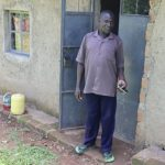 The Water Project: Mukoko Community, Zebedayo Mutsotsi Spring -  Albert Mutsotsi Outside His House