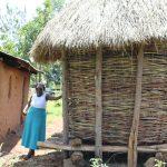 The Water Project: Mukoko Community, Zebedayo Mutsotsi Spring -  Maize Granary