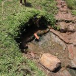 The Water Project: Mukoko Community, Zebedayo Mutsotsi Spring -  Water Source