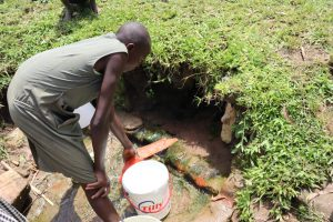 The Water Project:  Yvonne Fetching Water