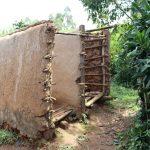 The Water Project: Mukoko Community, Zebedayo Mutsotsi Spring -  Pit Latrine
